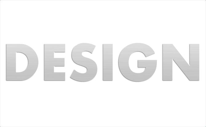 線形で作る「アルミ削り出しの文字」