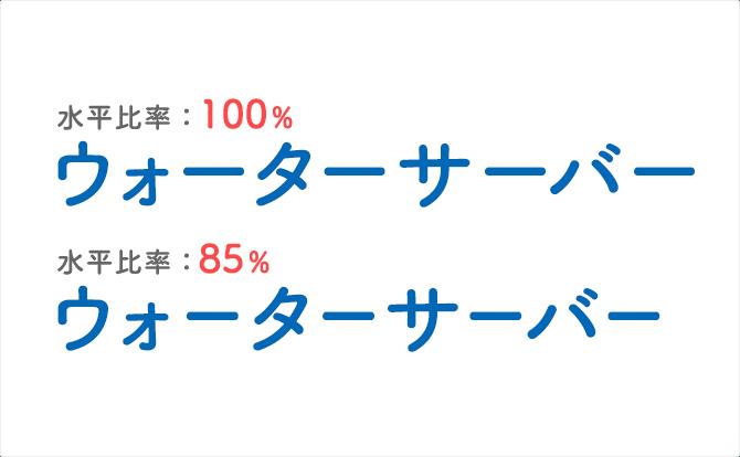 文字組で長音符が多いカタカナ英単語を整える方法